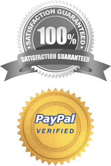 Satisfaction Guaranteed, PayPal Verified